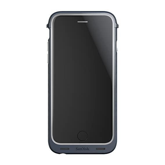 size 40 12cde 46382 SanDisk iXpand 32GB Memory Case for iPhone 6/6s - Retail Packaging - Grey