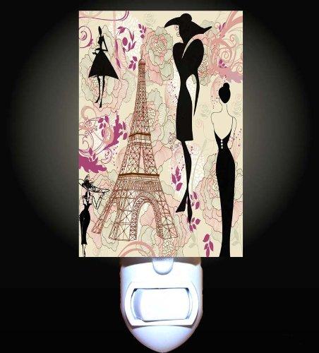 Fashions of Paris Decorative Night Light
