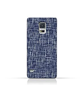 AMC Design Samsung Galaxy S5 Protective TPU Silicone Case with Brushed Chambray Pattern