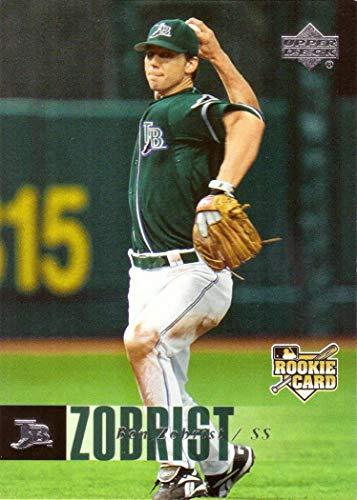 2016 Upper Deck Baseball - 2016 Upper Deck #1194 Ben Zobrist Baseball Card with Rookie Card Logo