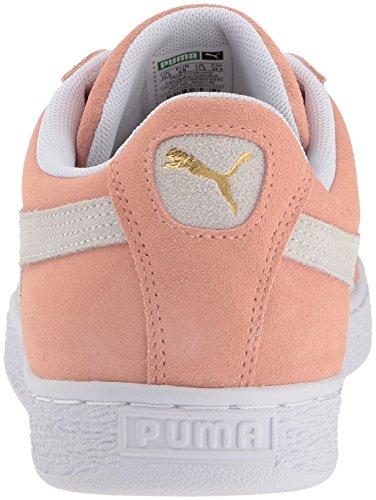 Puma Suede Classica Sneaker In Sordina Argilla-puma Bianco