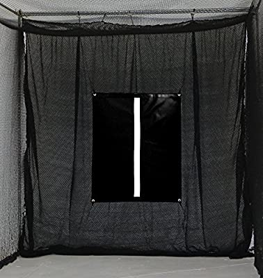 SELECT 10'x10' Golf Archery Baffle with Golf Net Target