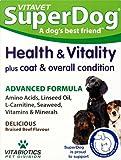 Vitabiotics SuperDog Health and Vitality - 30 Chewable Tablets