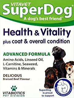Vitabiotics Superdog Health and Vitality - 30 Tablets