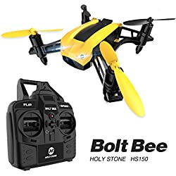 Holy Stone HS150 Bolt Bee Mini RC Drone - Includes Bonus Battery