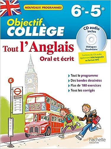 Amazon Fr Objectif College Tout L Anglais 6e 5e Nouveau Programme 2016 Guimberteau Daniel Livres