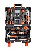 BLACK+DECKER BMT154C Professional Hand Tool Kit (154-Pieces), Orange and Black