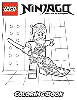 Amazon.com: Lego Ninjago Coloring Book: Coloring Book for Kids and ...