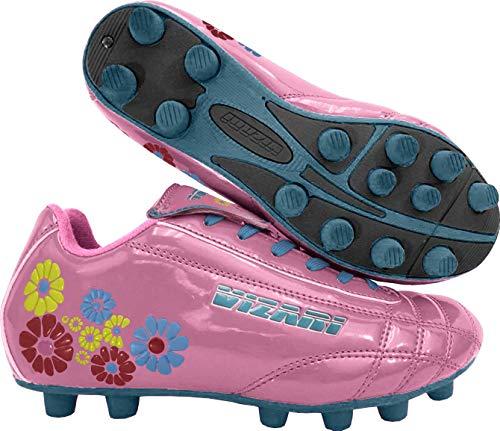 : Vizari Girls' Blossom FG-K, Pink/Blue, 1 M US Little Kid