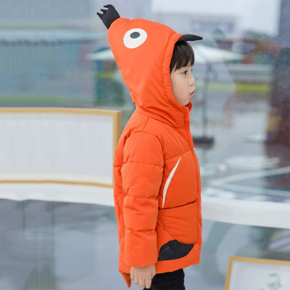 M/&A Boys Cartoon Penguin Down Jacket Outwear Puffer Winter Coat