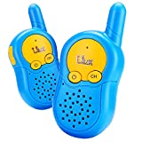 Walkie talkies for kids 3 channel two way radio up to use 3 Miles(Sky Blue)