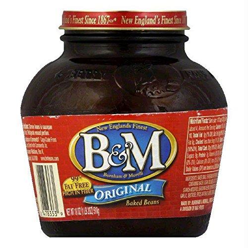 B&M Bean Baked Original Glass Jar, 18 oz