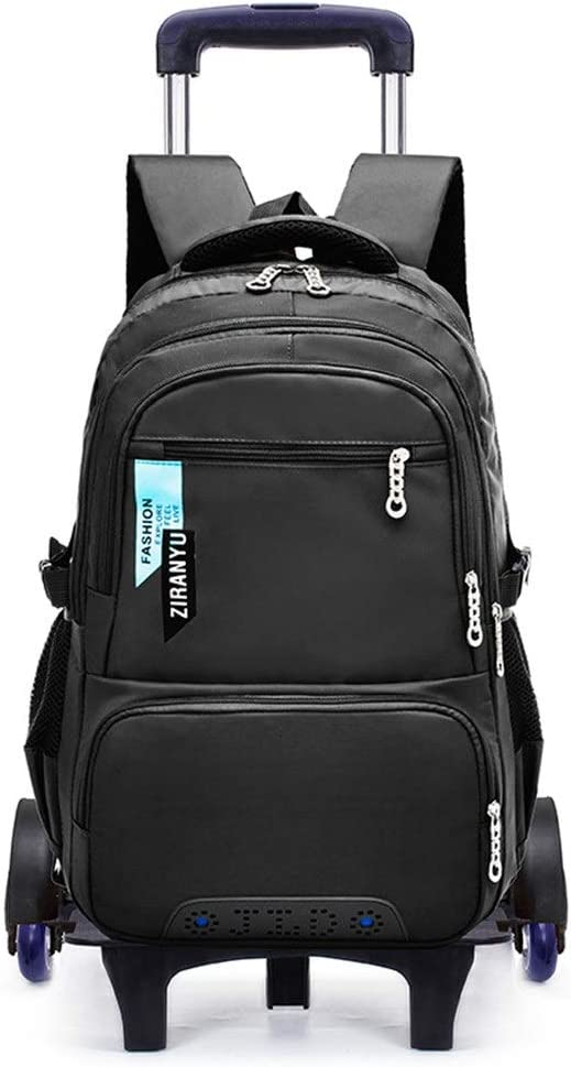 Mochila con Ruedas marca Carry On Trolley Black