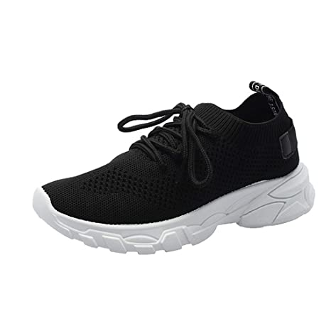844585a14caeb Amazon.com: Hurrybuy Womens Sneakers Lightweight Casual Walking ...