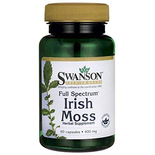 Swanson Full Spectrum Irish Moss 400 Milligrams 60 Capsules