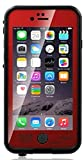 Shokk Fun Series Waterproof Case for iPhone 6 Plus 5.5 Version'' (Red)