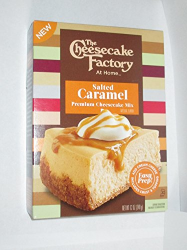 The Cheesecake Factory At Home Salted Caramel Premium Cheesecake Mix