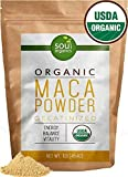 Cheap Soul Organics Maca Powder – USDA Organic and Gelatinized for Enhanced Bio-Availability, 1 Pound