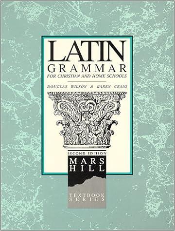 Latin Grammar Book