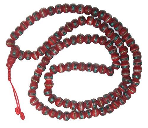82-bm-8-mm-tibetan-buddhist-coral-turquoise-prayer-meditation-mala
