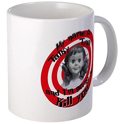 CafePress - Talky Tina - Unique Coffee Mug, 11oz Coffee Cup