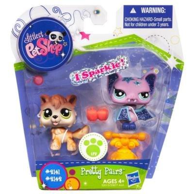 Littlest Pet Shop Pretty Pairs Figures Wolf Bat, Baby & Kids Zone