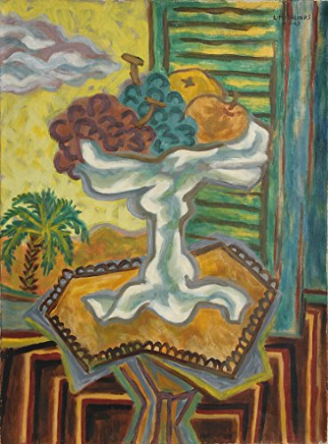 (Tropical Still Life with Fruits)