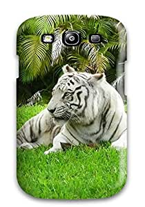 Quality AndrewTeresaCorbitt Case Cover With White Bengal Tiger Nice Appearance Compatible With Galaxy S3