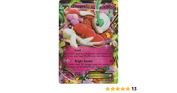 Pokemon card florges 67//119 holo ex french new