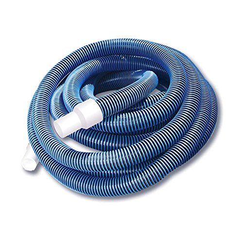 Pool Central 32756762 30' Blue Spiral Wound Eva Vacuum Hose Cuffs, White by Pool Central (Image #1)