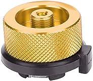 Outdoor Stove Conversion Head Convert Burners Adaptor Input Screw Type Converter Connector Valve Gas Tank Adap