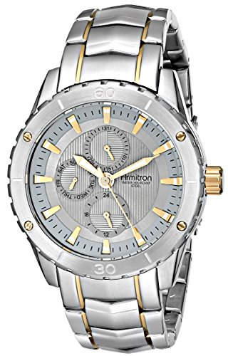 Armitron Men's 20/4844GYTT Stainless Steel Two-Tone Watch