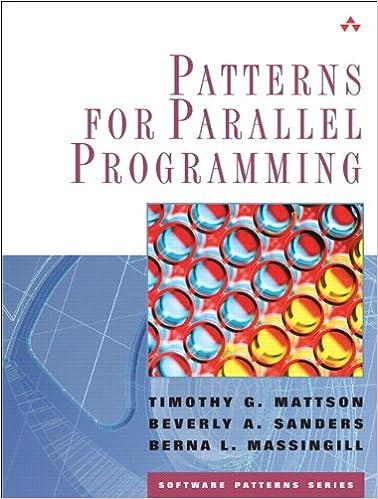 Patterns For Parallel Programming Mattson Pdf
