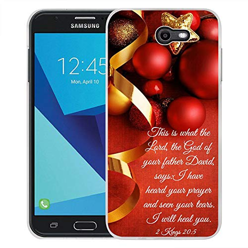 - Compatible for Samsung J7 Christmas Case, Galaxy J7 V Case, Galaxy J7 Perx Case, Galaxy J7 Sky Pro/Galaxy Halo Case, for Samsung Galaxy J7 2017 Case Graffiti Christmas Decoration Ball