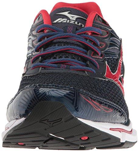 Shoe Running 6 Wave Red Men's Enigma Navy Mizuno AxqCXwtt