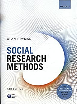 Alan bryman social research methods 4th edition