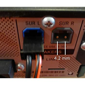 Amazon Com 4 2mm Home Theater Speaker Wire Connectors
