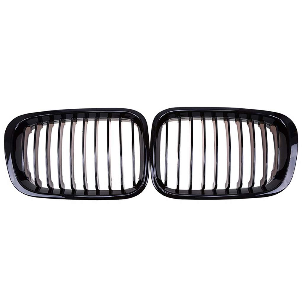Ben-gi Grille Kidney Grill for BMW E46 3 Series 4 Door 1998-2001 Gloss Black Front Bumper Grille