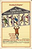 """A Funny Thing Happened on the Way to the Forum 1966 Authentic 27"""" x 41"""" Original Movie Poster Phil Silvers Musical U.S. One Sheet Style A"""