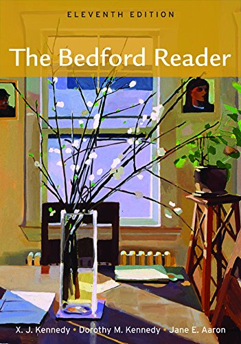 analysis the bedford reader The print text is now integrated with e-pages for the bedford reader checklist for revising a division or analysis essay division or analysis in academic writing.