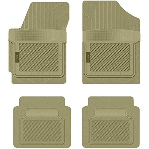 Tan 2412113 PantsSaver Custom Fit Car Mat 4PC