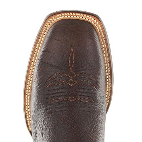 Lucchese - Botas De Vaquero Hombre Multicolor - Chocolate Merlot