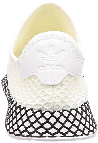 adidas Black Scarpe Runner Deerupt da Core Ftwr White Ftwr Ginnastica White Uomo Ftwr Core White Bianco Ftwr Black White rqwrF57Ex