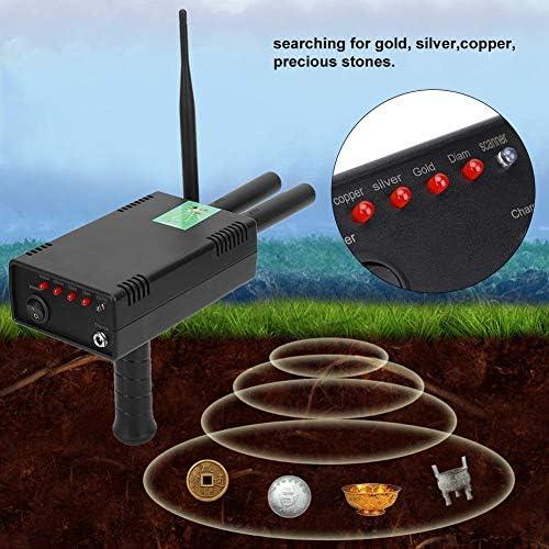Professional Underground Metal Detector Copper//Diamond //Gold//Silver Detecting Tools Treasure Finder 110V-240V Search Range 1000 Meters 110-240V US Plug