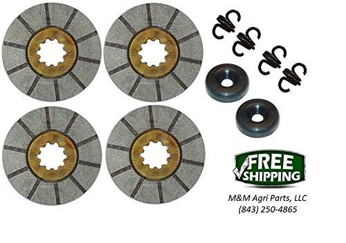 Brake Disc Kit IH Farmall 2544 2504 2606 460 504 606, 340 - Diesel 368292R92