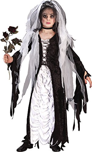 Kids Costumes Bride Of Darkness (Girls - Bride Of Darkness Ch Sm Halloween Costume - Child Small)