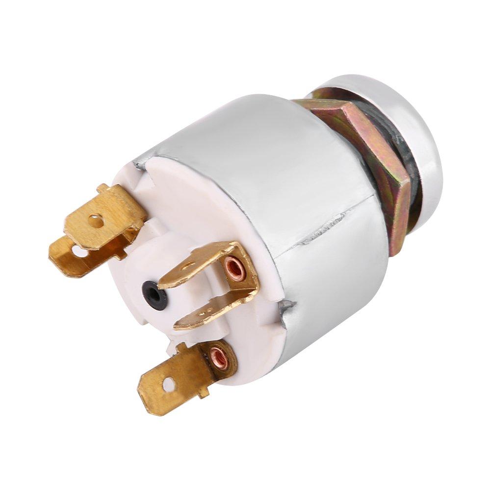 Qiilu 12V Universal Car Auto 4 Position ON OFF Start Ignition Switch Controls W// 2 Keys SPB501