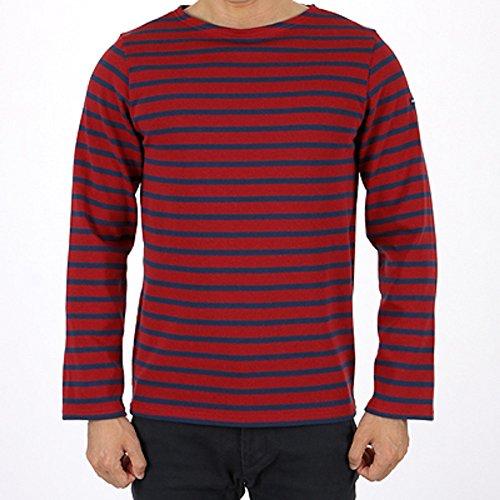 6ff964ab5c0113 Saint James Meridien Streifenshirt BretagneShirts Pompon Bleu Nuit