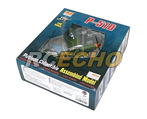 rcecho/® Easy Model Aircraft Model 1//48 P-51D Arval J Roberson 1944 Finished 39304 E9304 with 174; Full Version Apps Edition