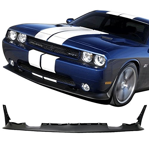 GT-Speed for 2008-2010 Dodge Challenger SRT Style Front PU Bumper Lip
